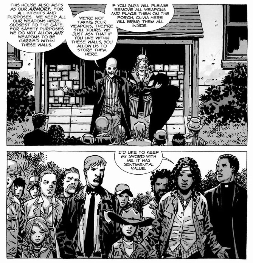 The Walking Dead képregény 12. kötet 10. kép