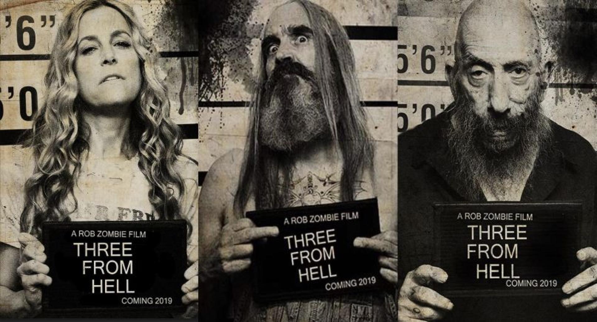 Megérkeztek az első hivatalos képek a 3 from Hell filmhez