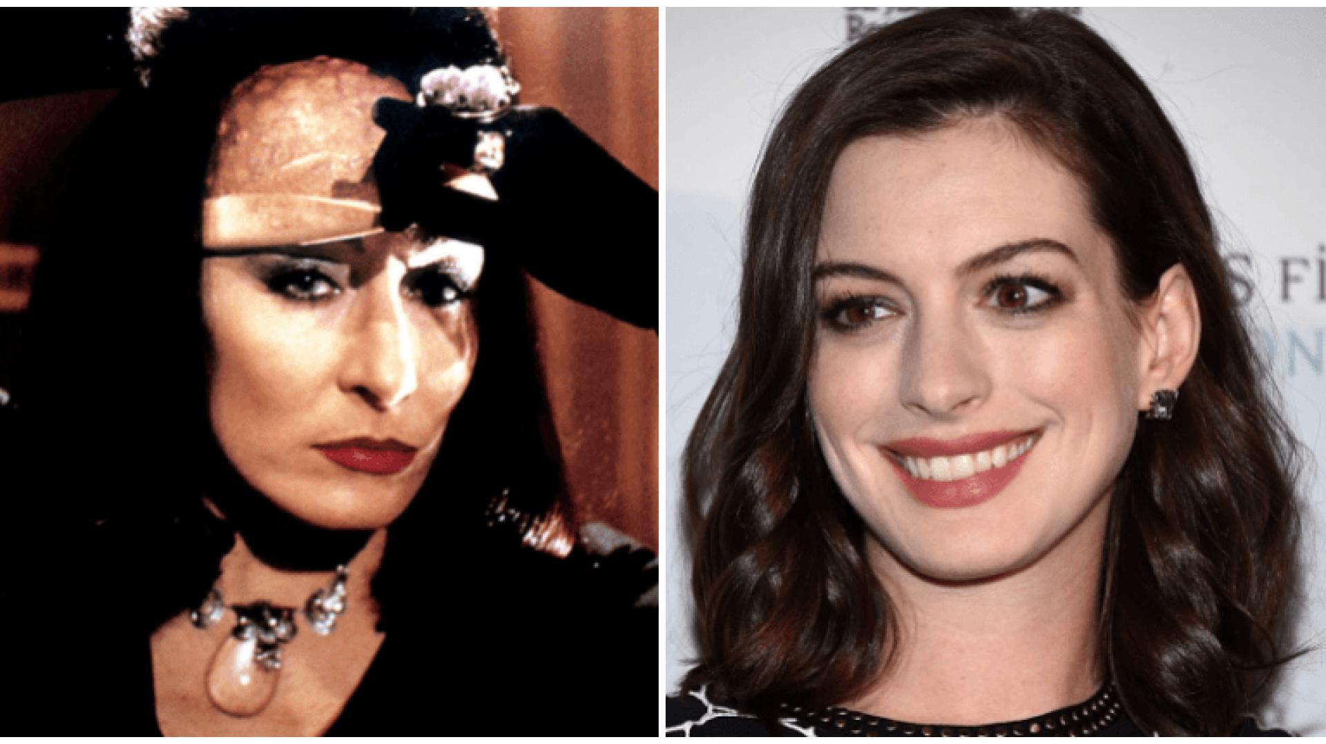 Anne Hathaway boszorkánynak áll