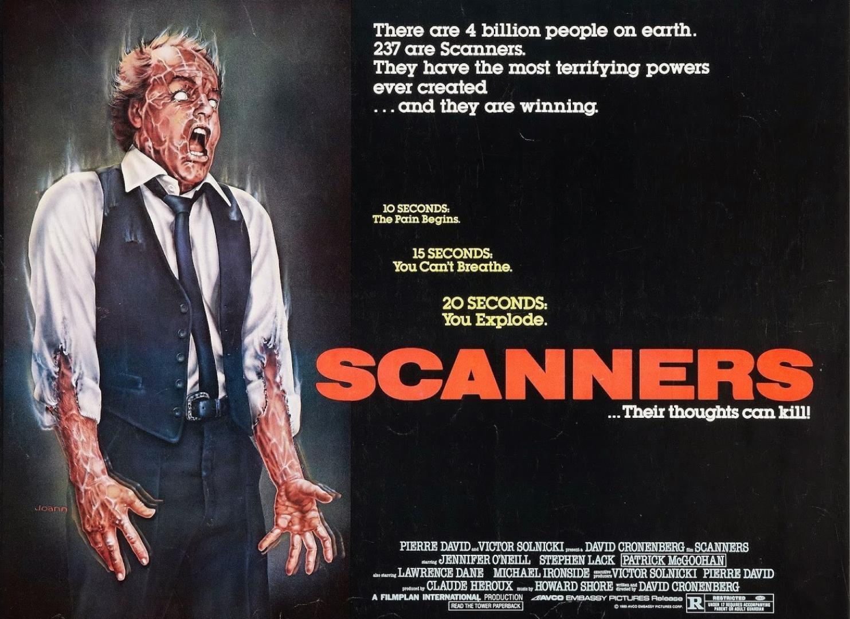 Scanners - Agyfürkészők (1981)