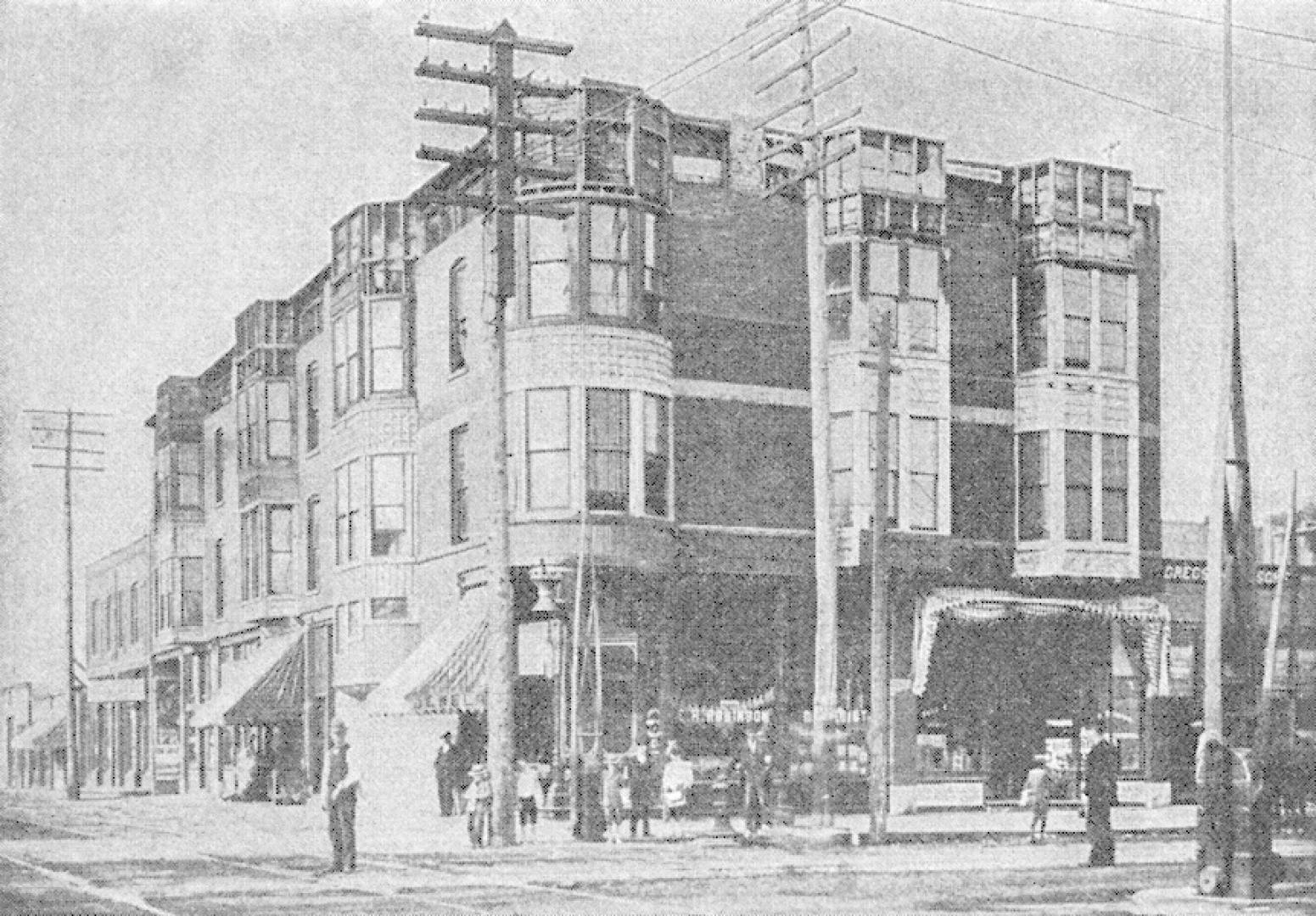 H. H. Holmes kastélya 1. kép