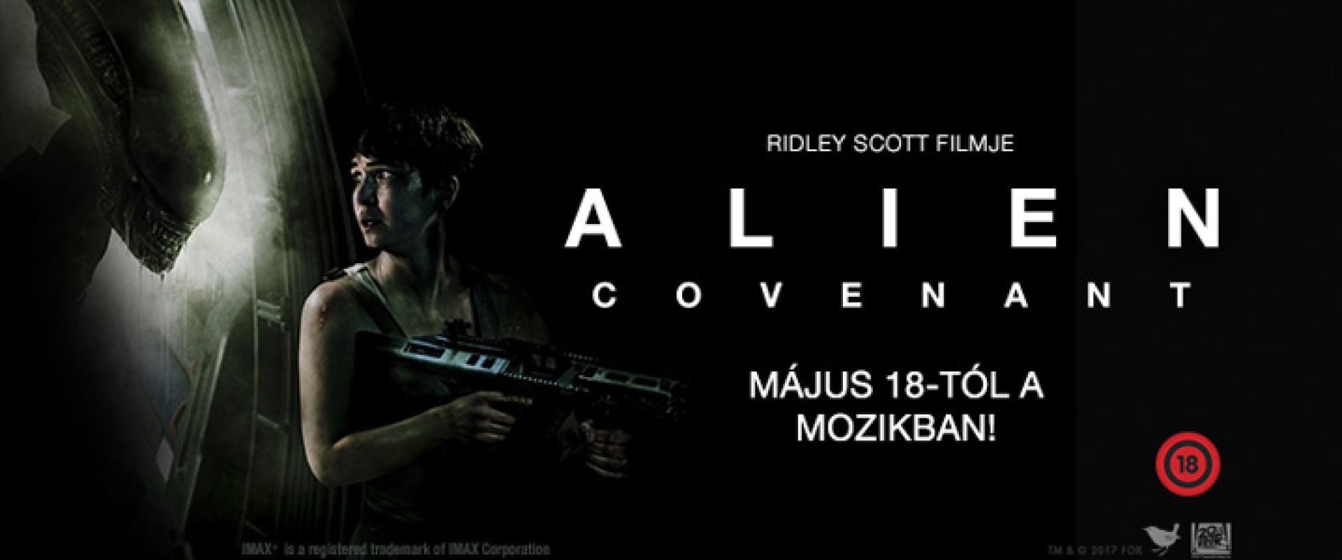 Alien: Covenant - beharangozó