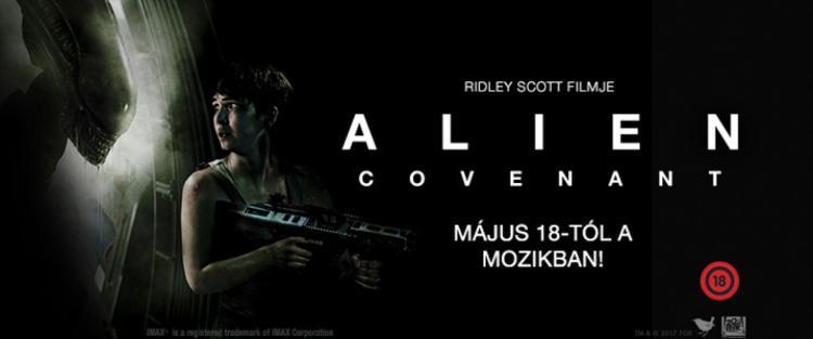 Alien: Covenant - beharangozó - Kiemelt