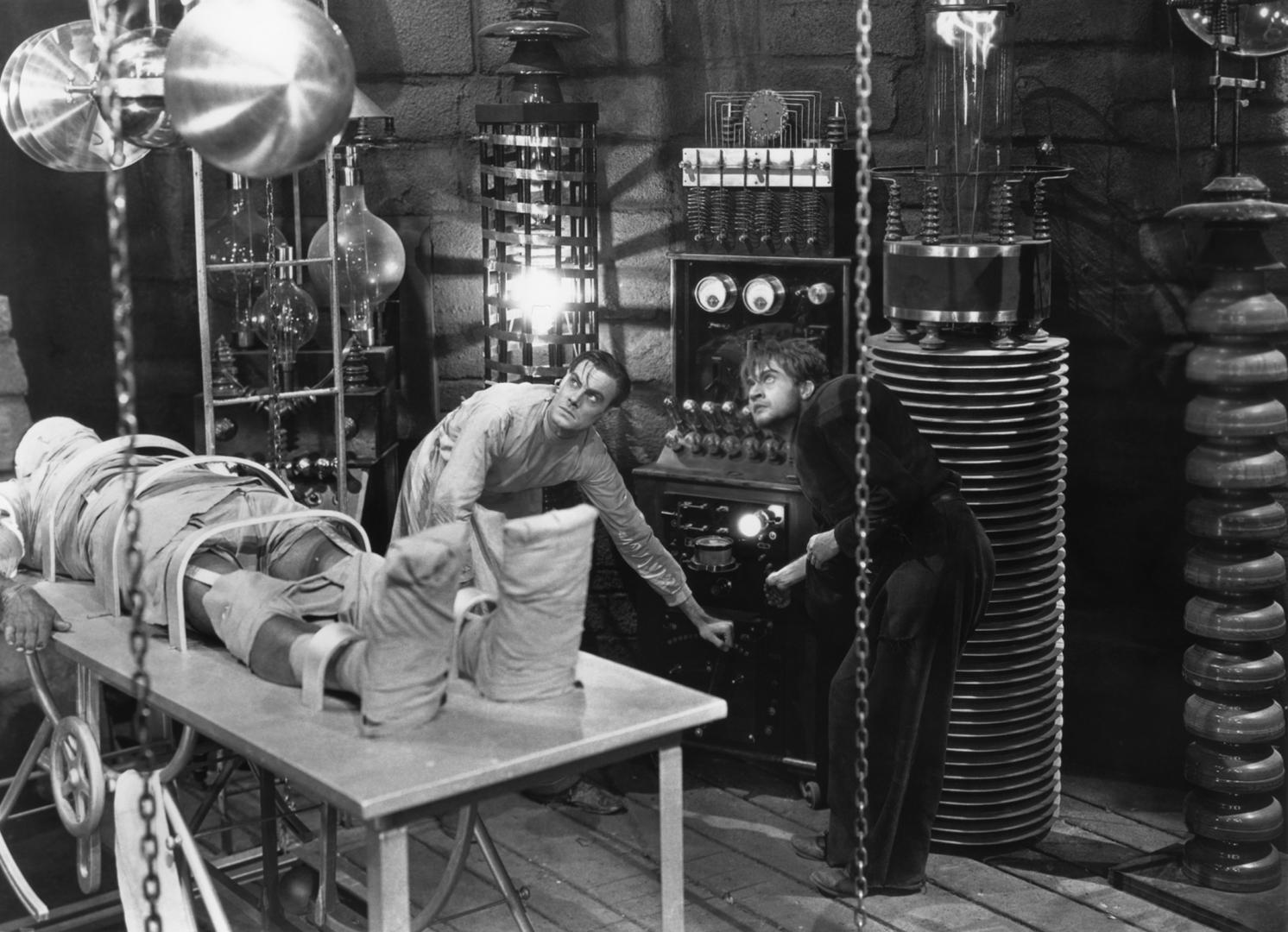 Frankenstein (1931) 1. kép