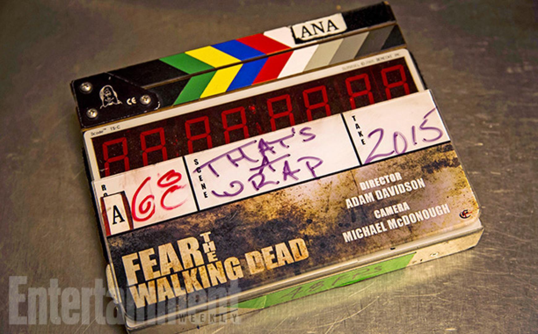 Képek a Fear the Walking Dead forgatásáról