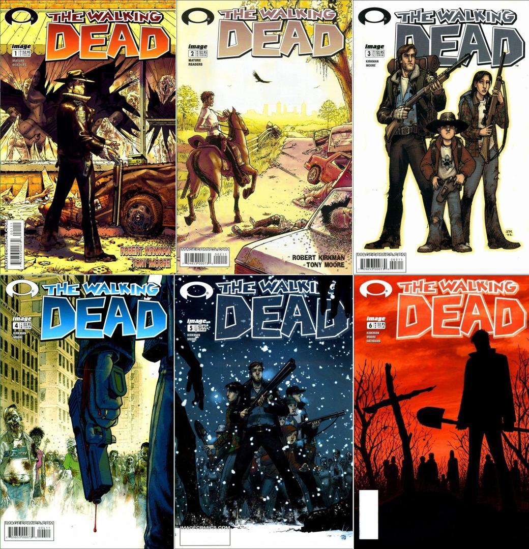 The Walking Dead: 1. kötet 1. kép