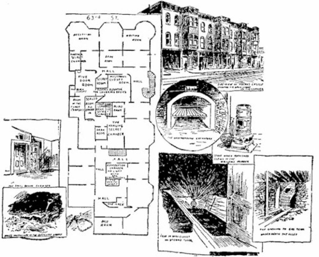 H. H. Holmes kastélya 2. kép