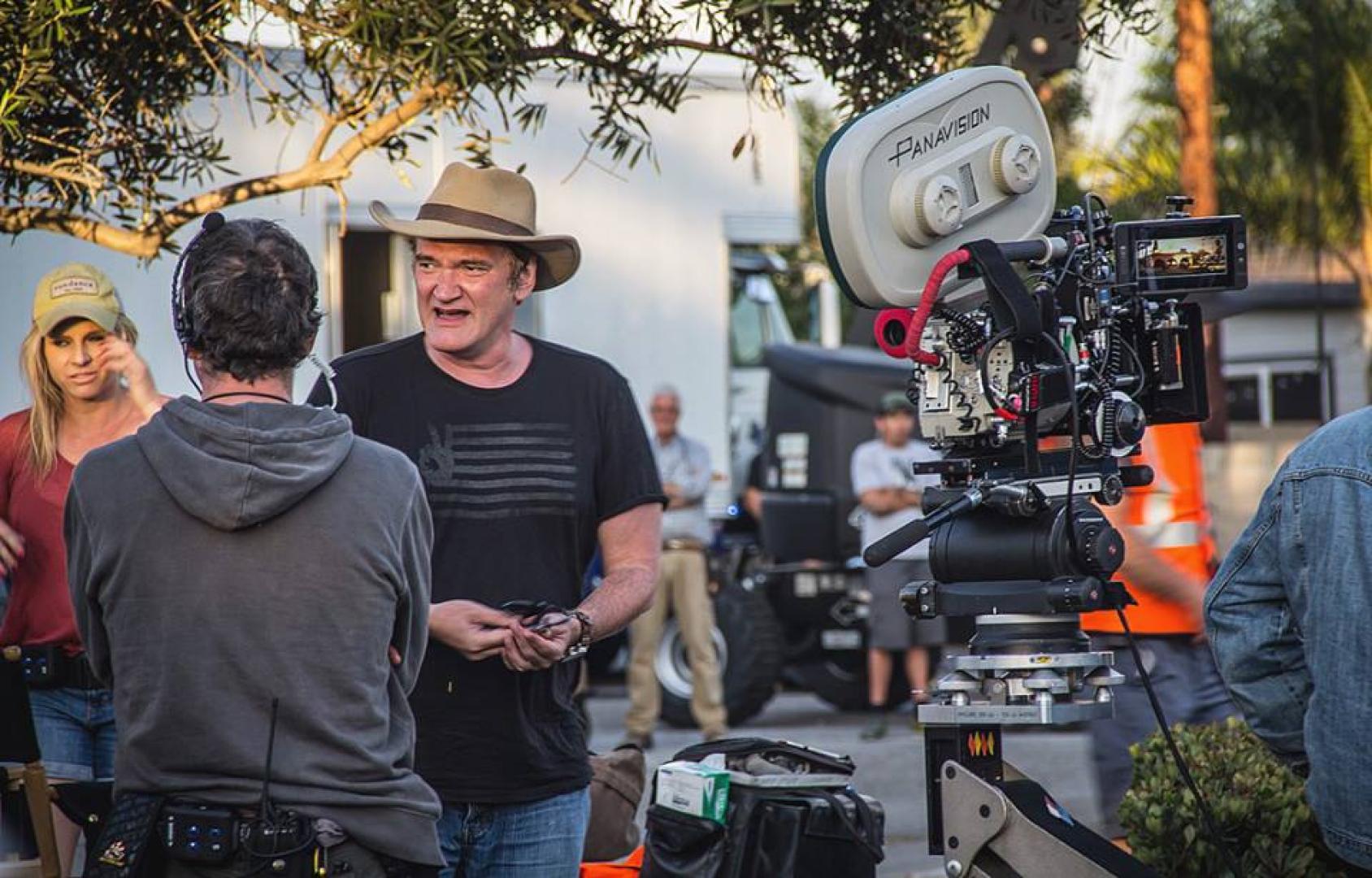 Újabb képek érkeztek Tarantino filmjéhez