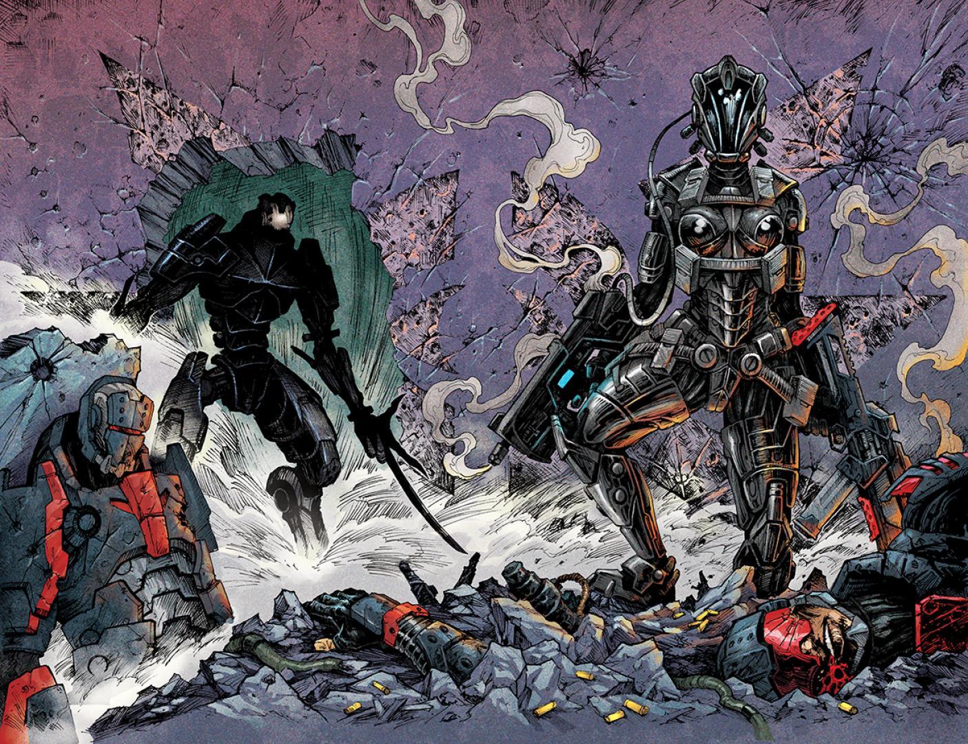 Hamarosan megjelenik a Bloodlust képregény legújabb száma