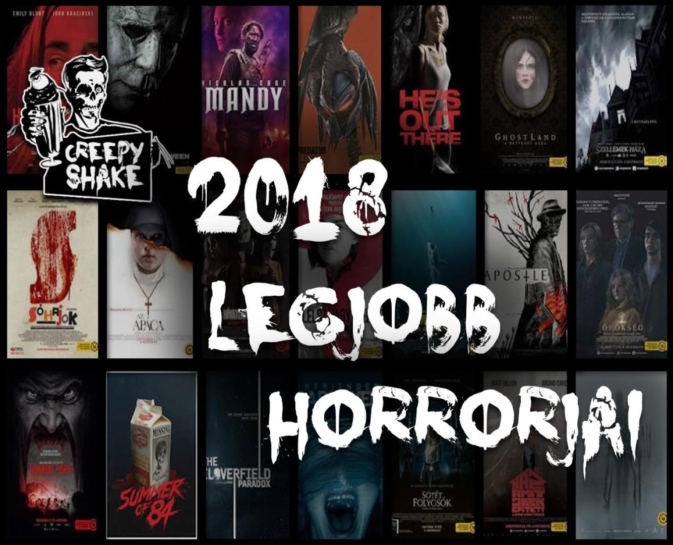 2018 legjobb horrorfilmjei
