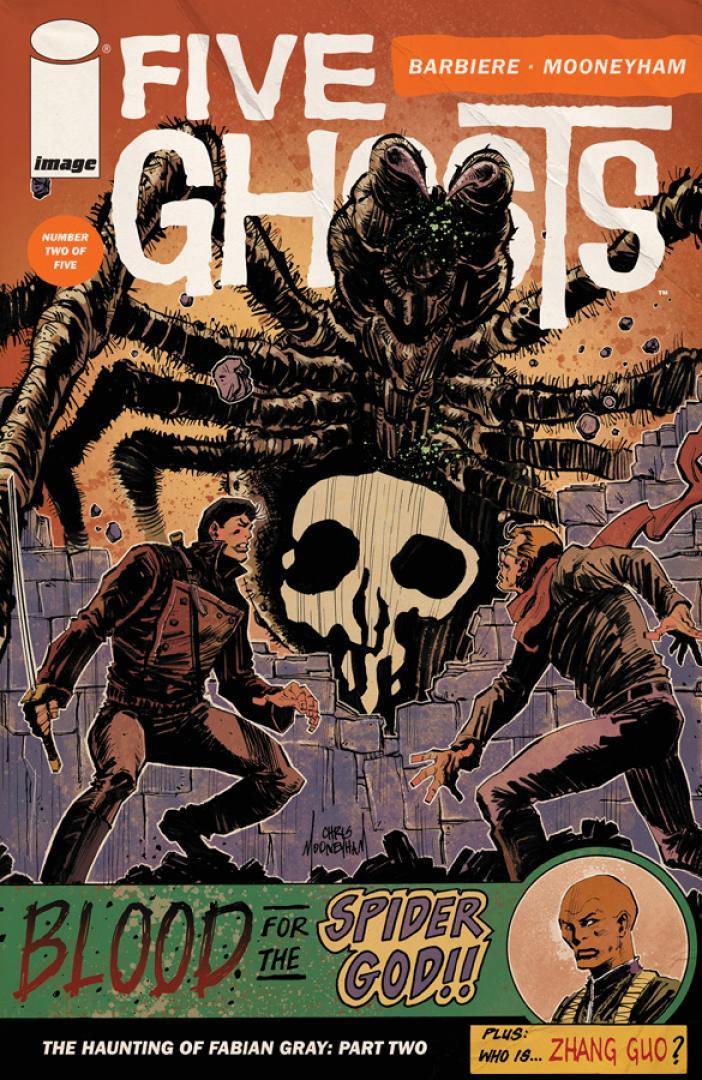Syfynál sorozat lesz a Five Ghostból