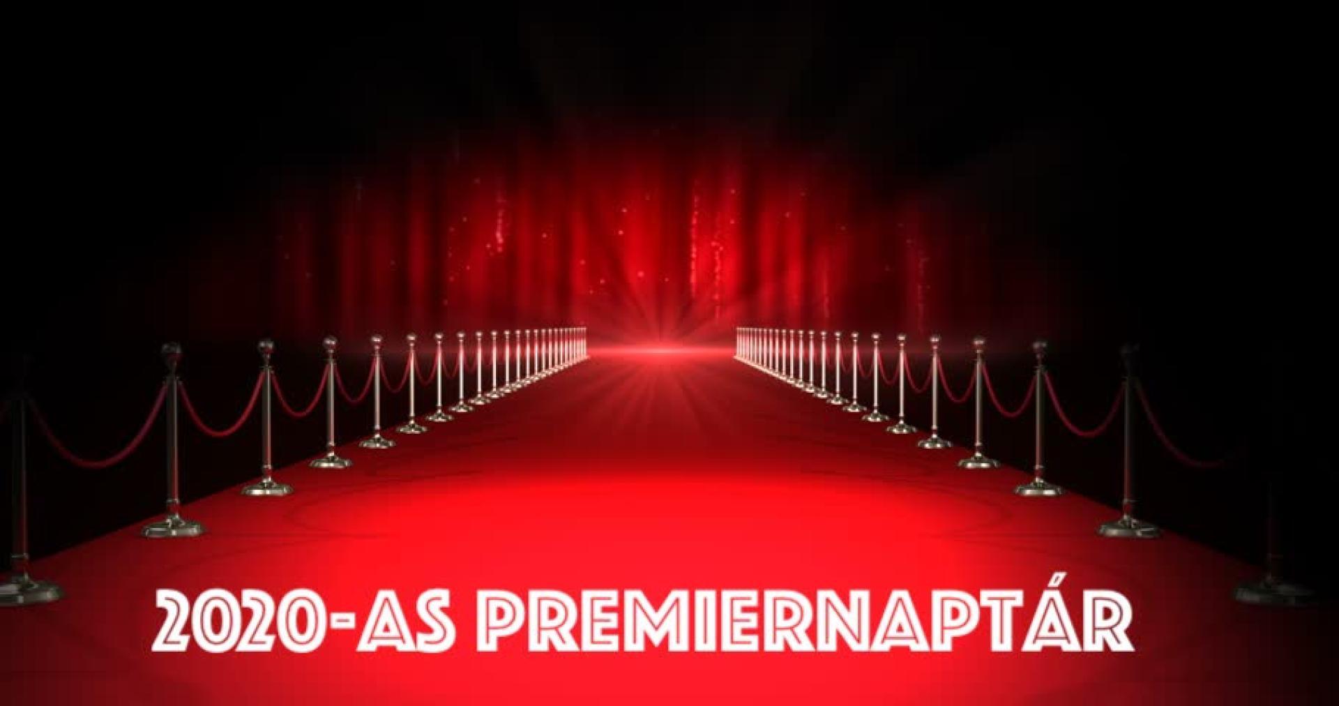 2020-as premierek