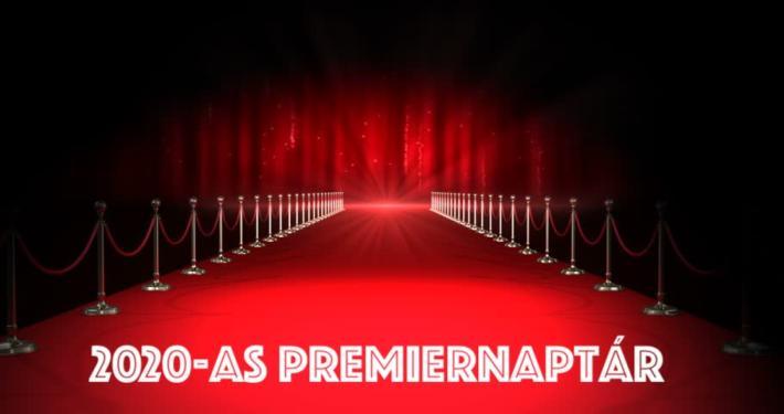 2020-as premierek - Premiernaptár - Filmek