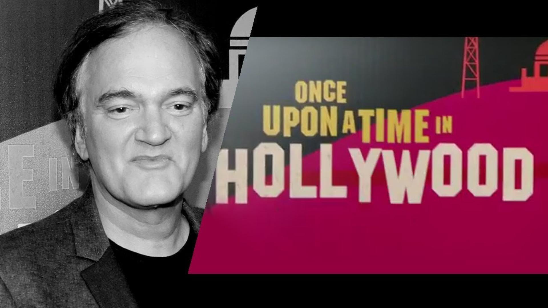 Itt az első kép a Once Upon a Time in Hollywoodhoz