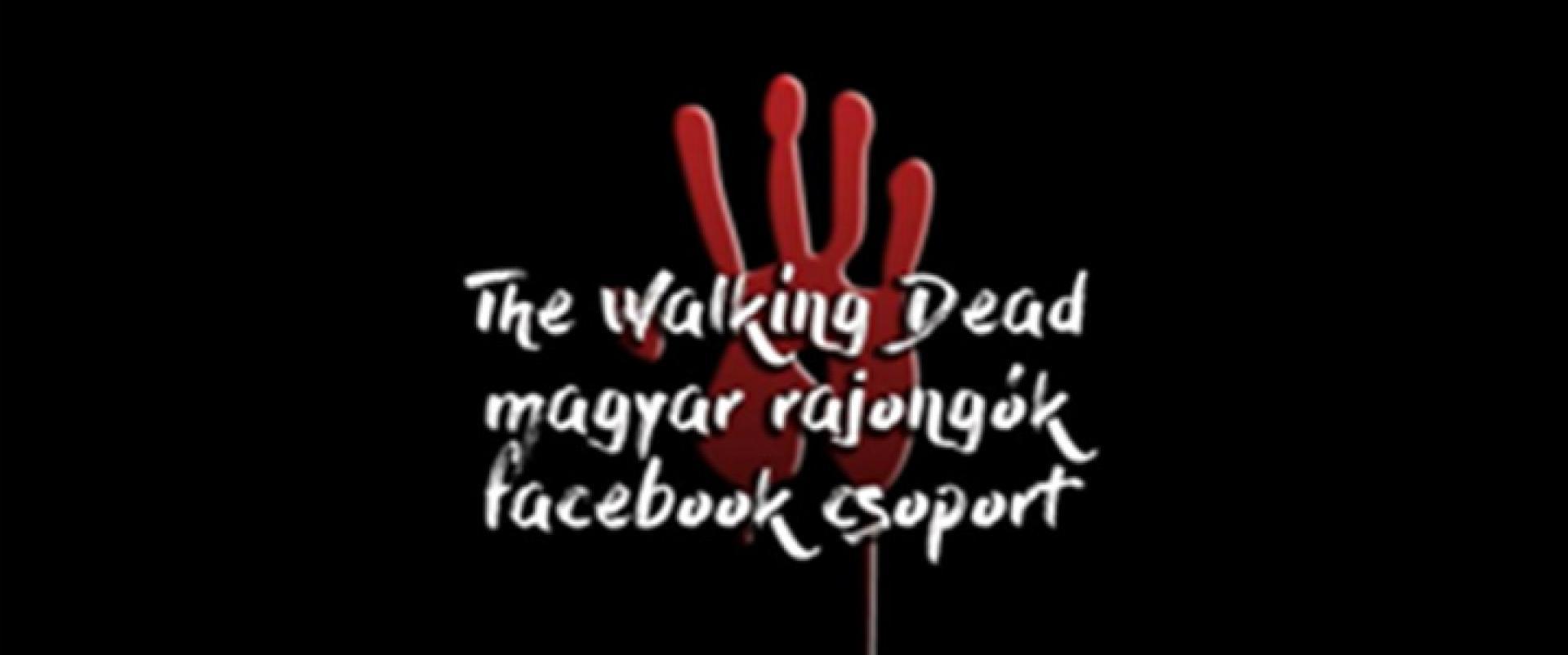 Interjú a The Walking Dead - magyar rajongók Facebook-csoport vezetőjével