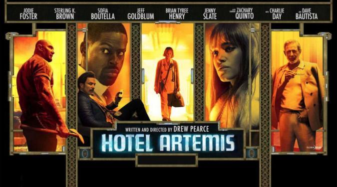 Hotel Artemis (2018) - Disztópia