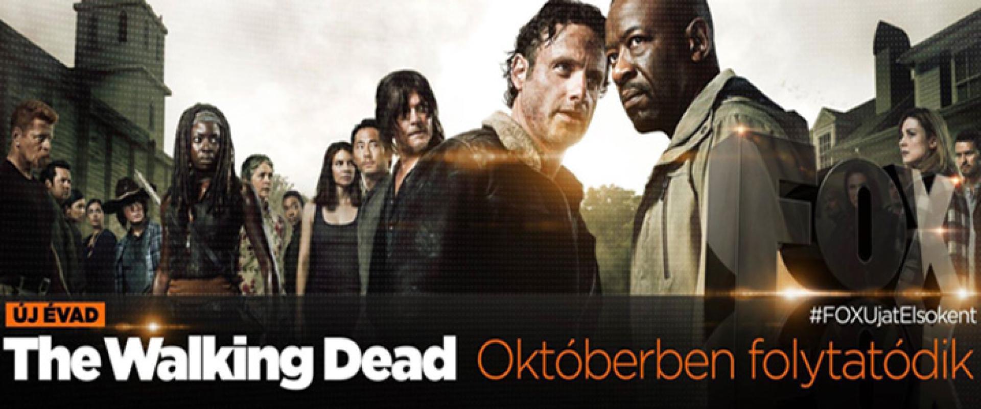 The Walking Dead: új szereplő + poénvideó