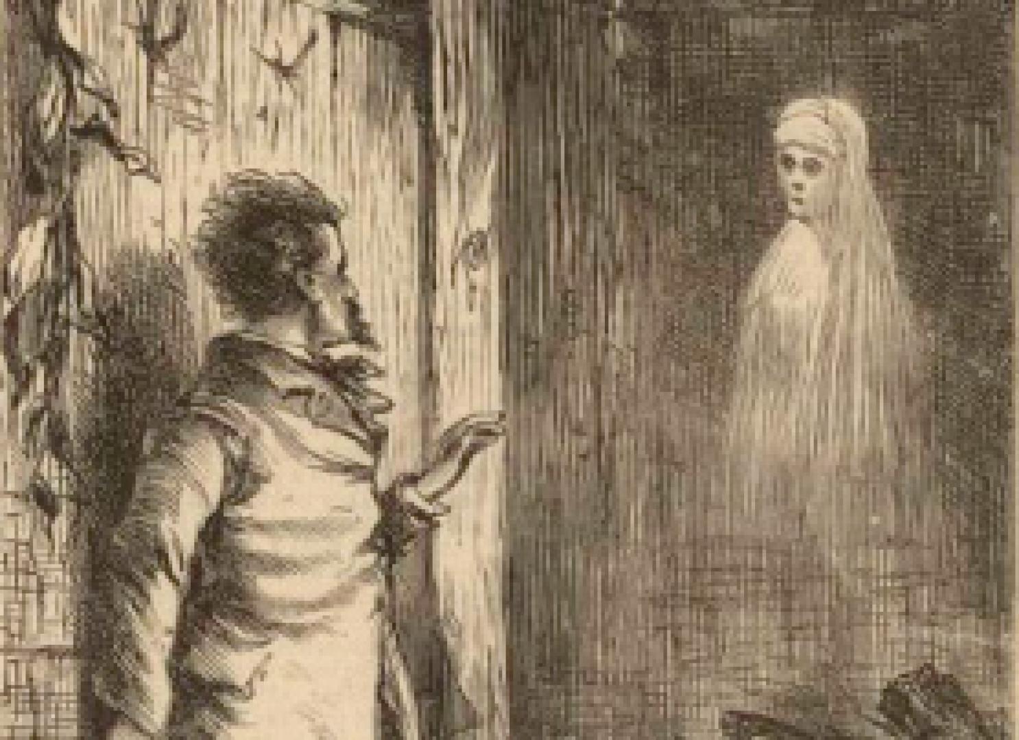 Drekavac - A fehér ruhás nő és gyermeke 3. kép
