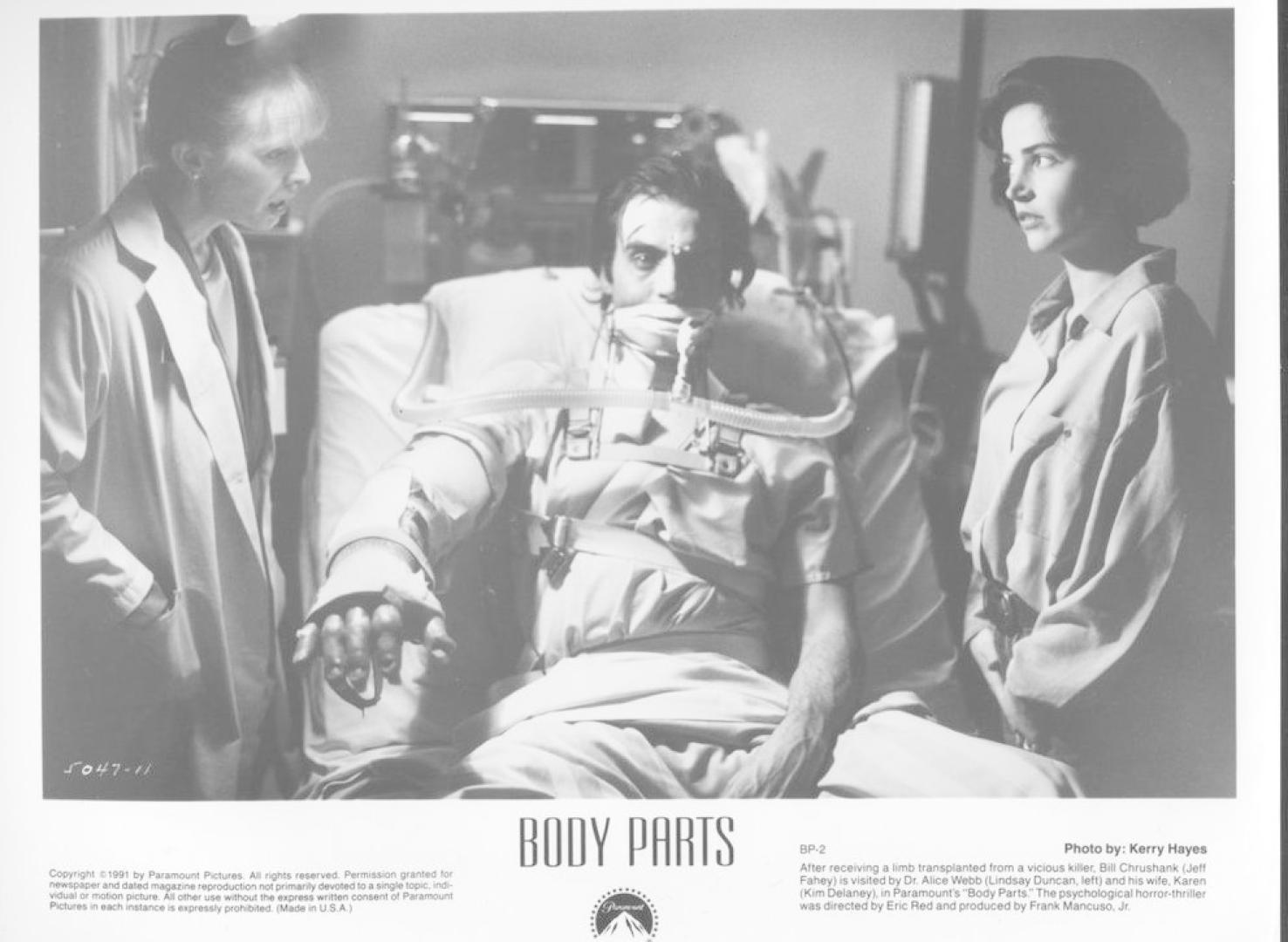 Body Parts / Testrészek / Gyilkos testrész (1991)