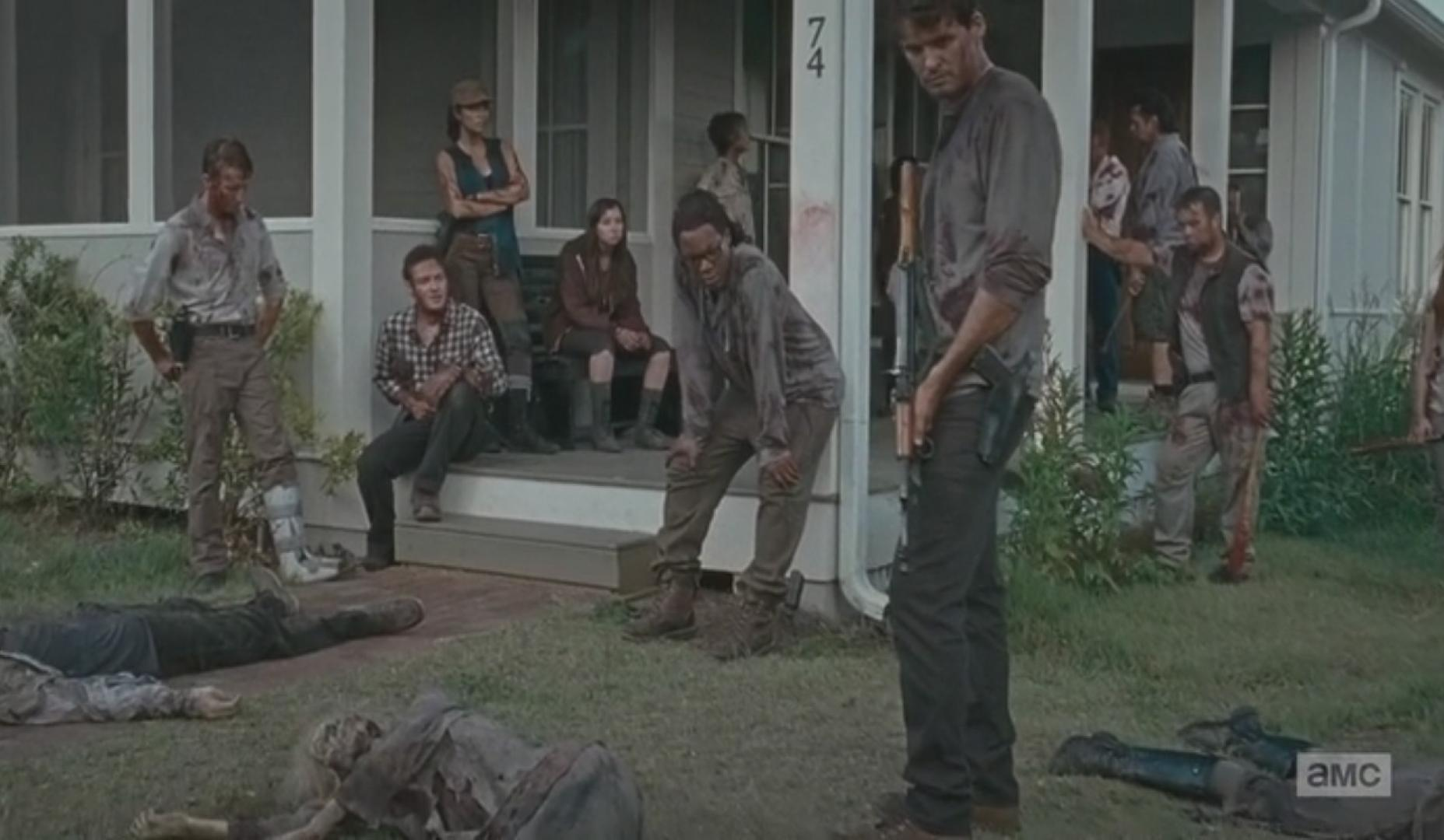 The Walking Dead 6x09 8. kép