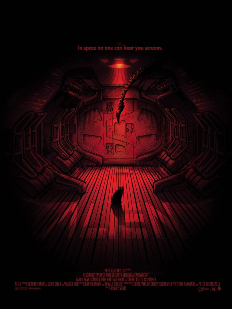 Alien - rajongói poszterek