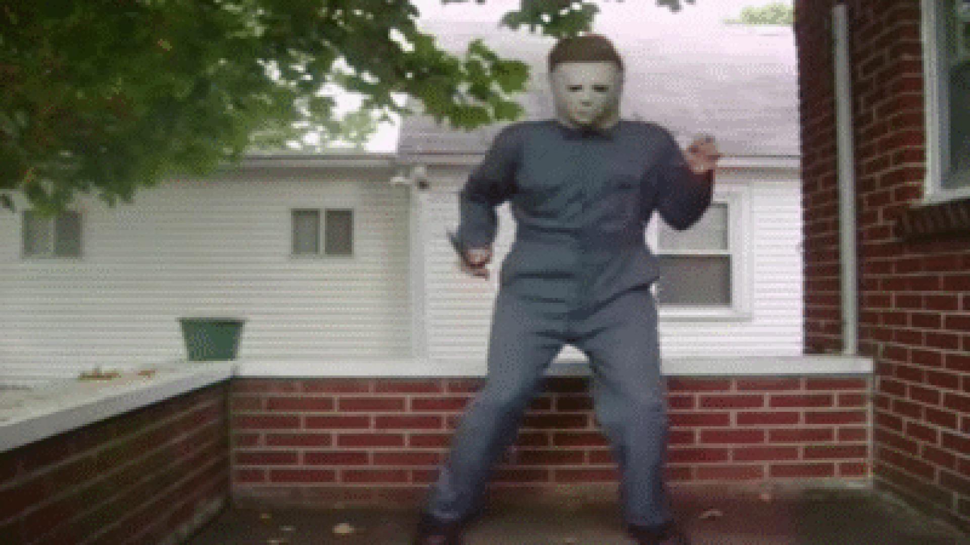 Michael Myers táncol