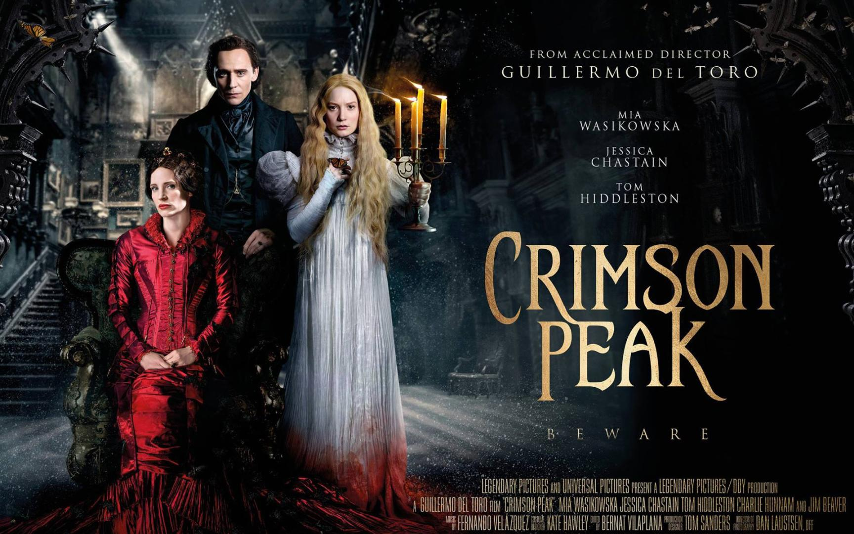 Crimson Peak - Bíborhegy (2015)