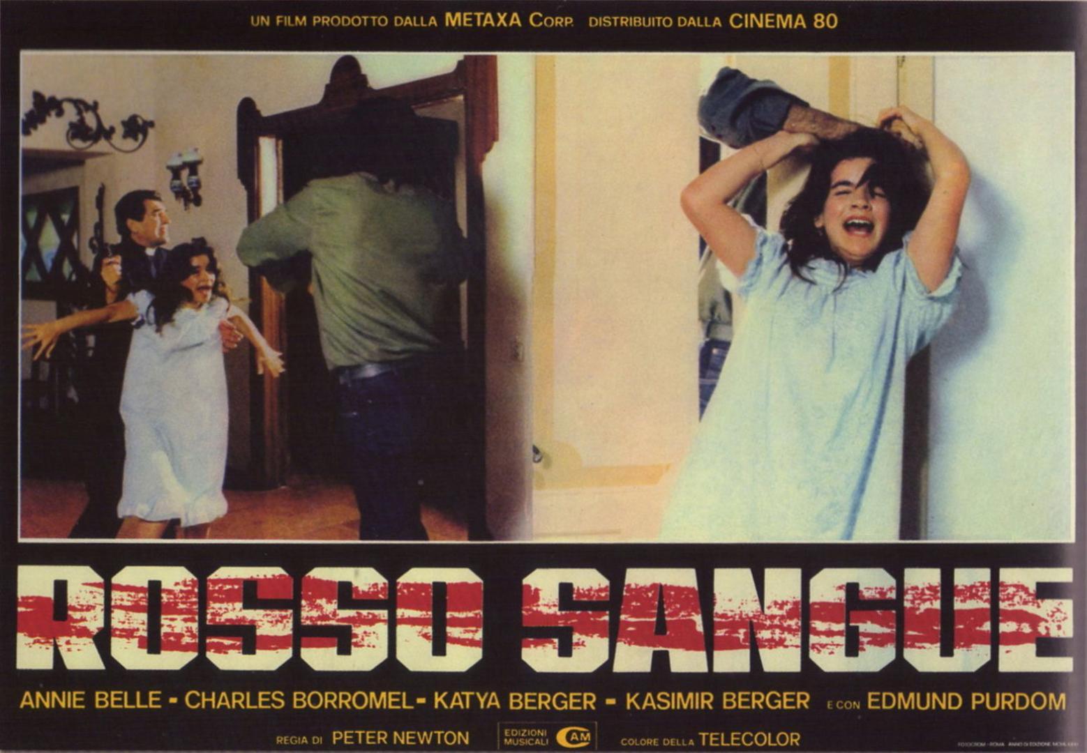 Rosso Sangue / Antropophagus II / Absurd / Az ördög szülötte / A pokol szülötte (1981)