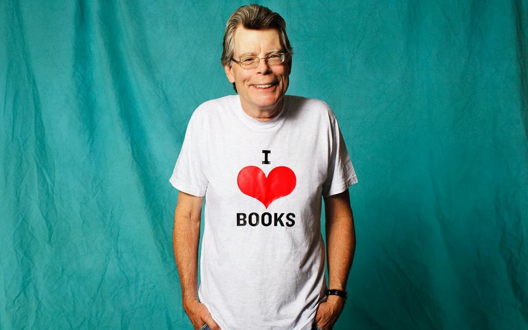 Miniinterjú Stephen Kinggel