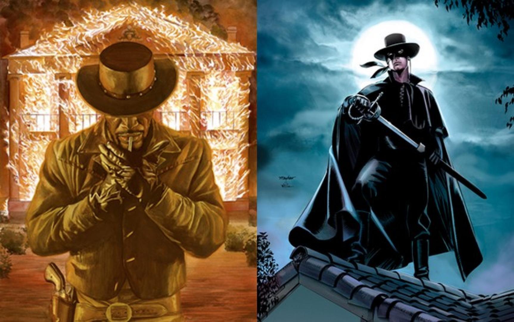 Django és Zorro Tarantino tálalásában