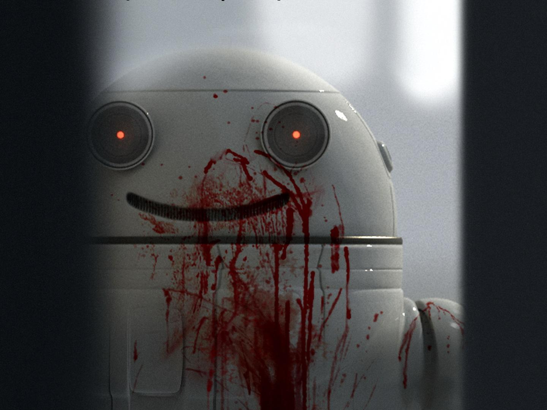 Rövidfilm: Blinky, a pajkos robot