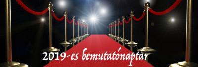 2019-es premierek - Premiernaptár - Filmek