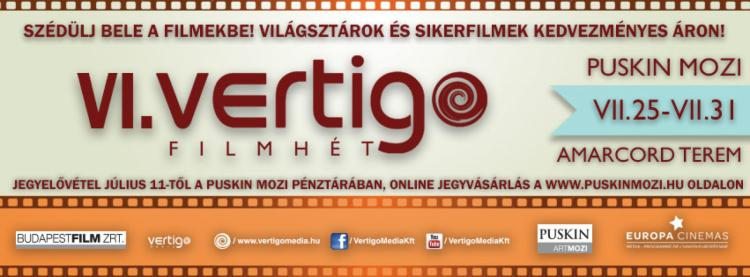 Szédülj bele a filmekbe: VI. Vertigo Filmhét ismét a közelmúlt sikerfilmjeivel - Hírzóna