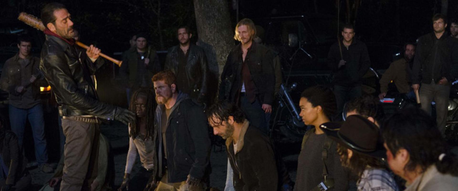 The Walking Dead, 7. évad: az első kép