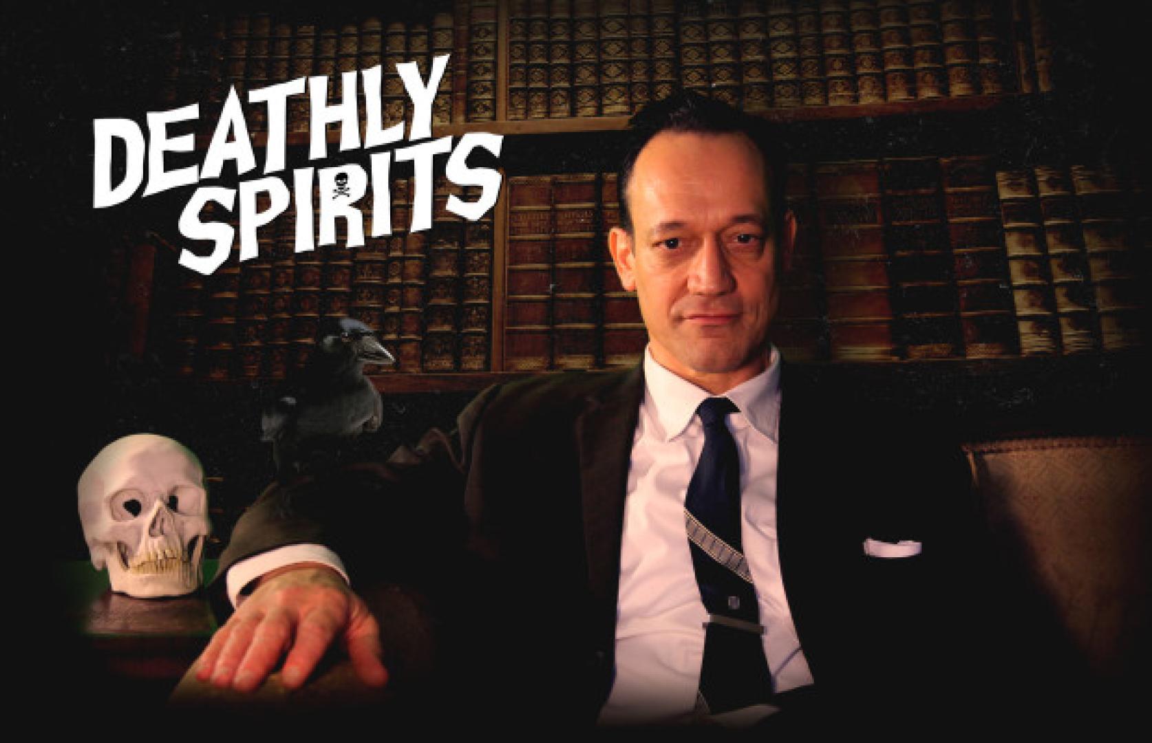Ted Raimi dolgozik a Deathly Spirits websorozaton