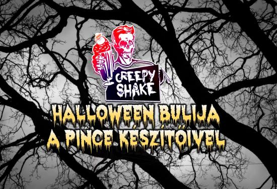 A CreepyShake Halloween bulija A Pince készítőivel - Hullajó