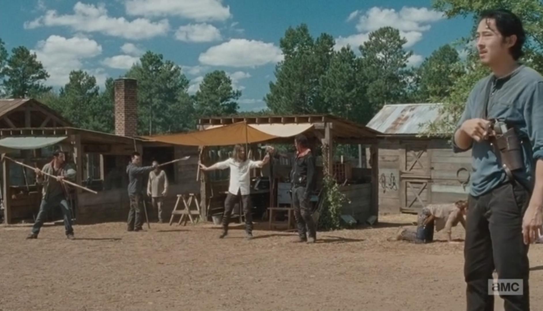 The Walking Dead 6x11 6. kép