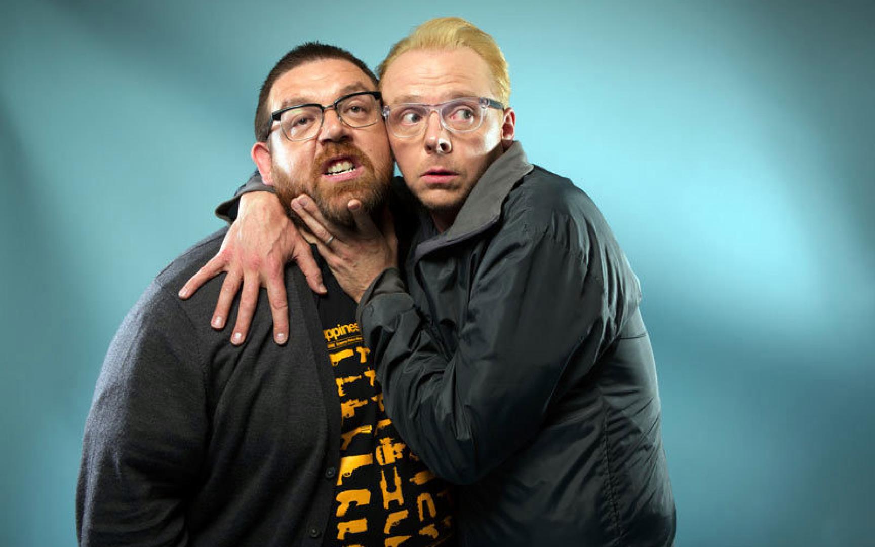Simon Pegg és Nick Frost újra együtt