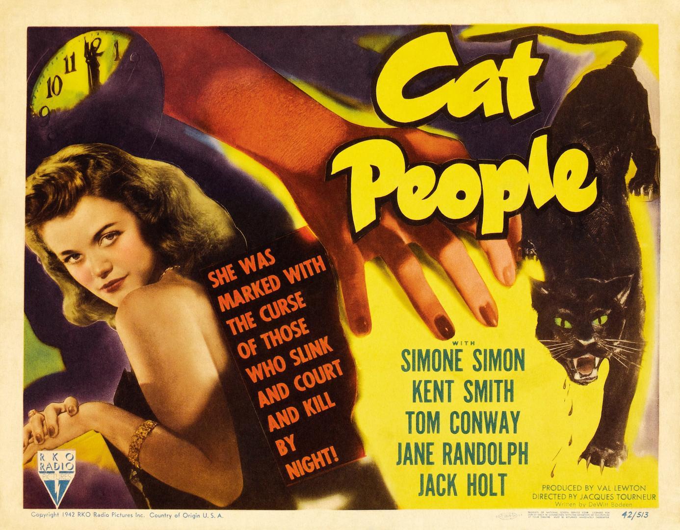 Cat People - Macskaemberek (1942) 1. kép