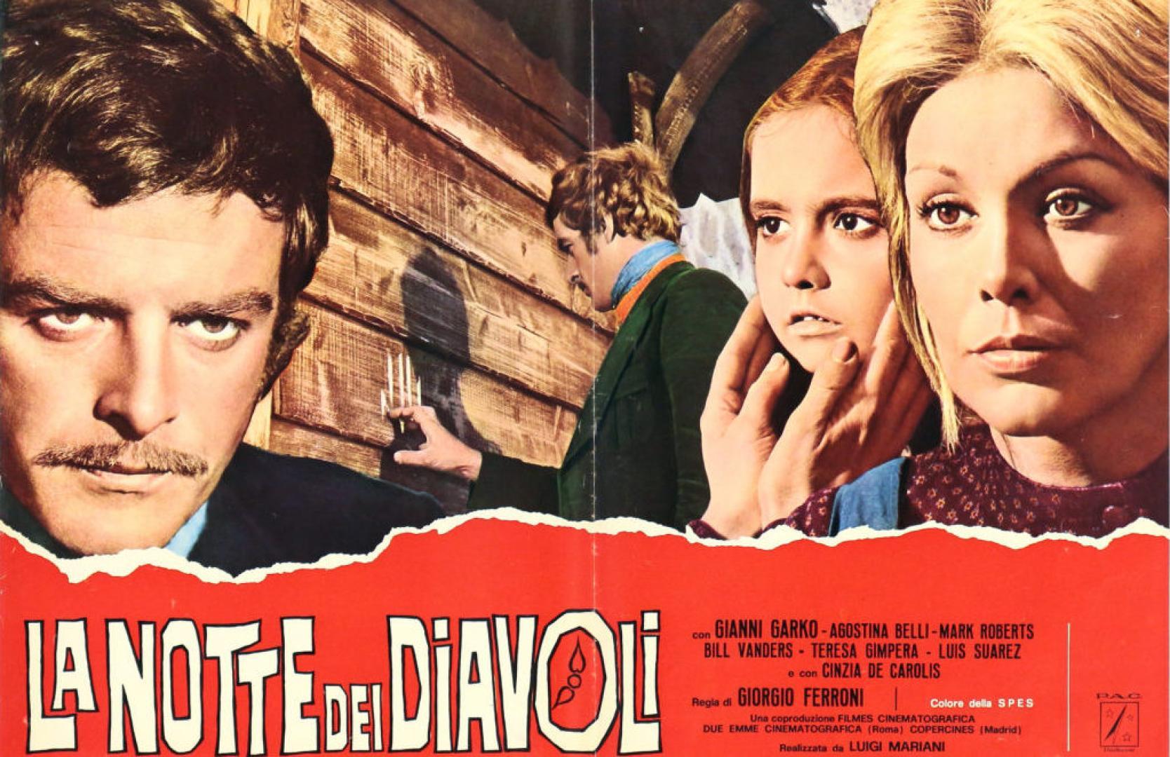 La notte dei diavoli / Night of the Devils / Az éjszaka ördögei (1972)