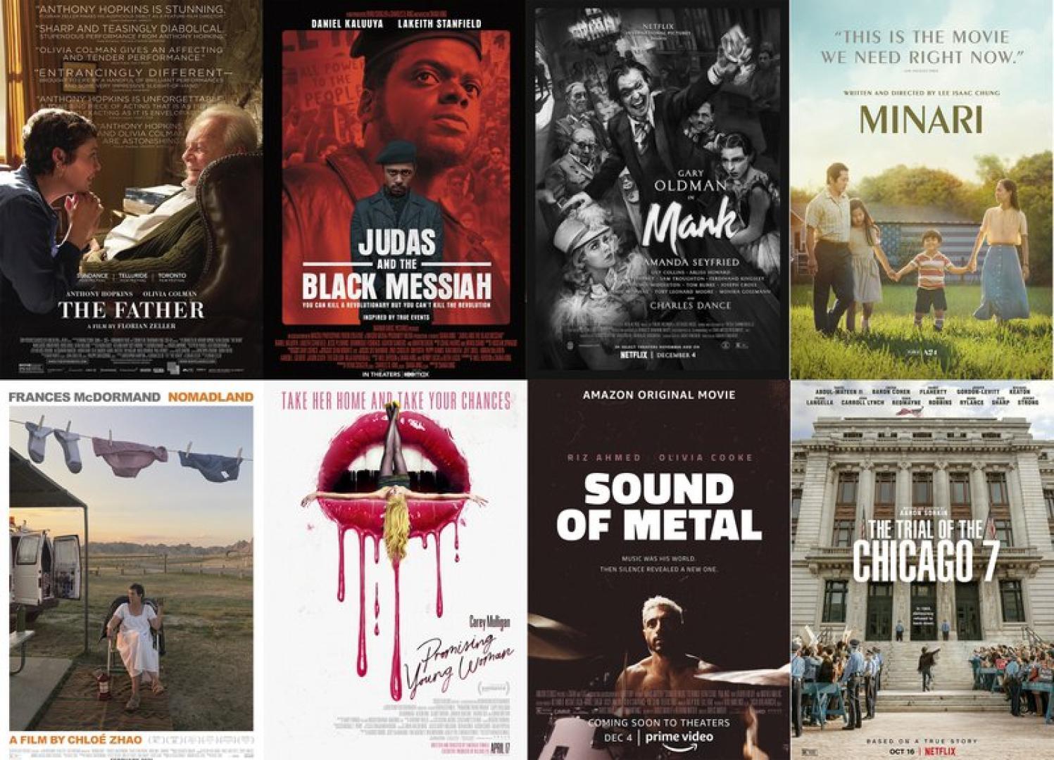 Oscar várományosok a Legjobb film kategóriában