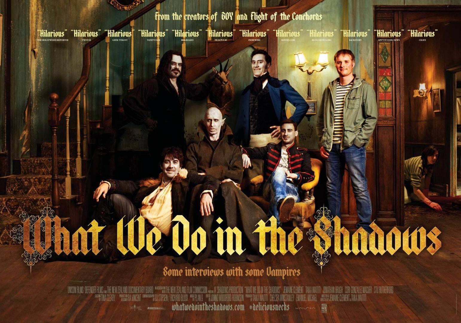 What We Do in the Shadows - Hétköznapi vámpírok (2014)