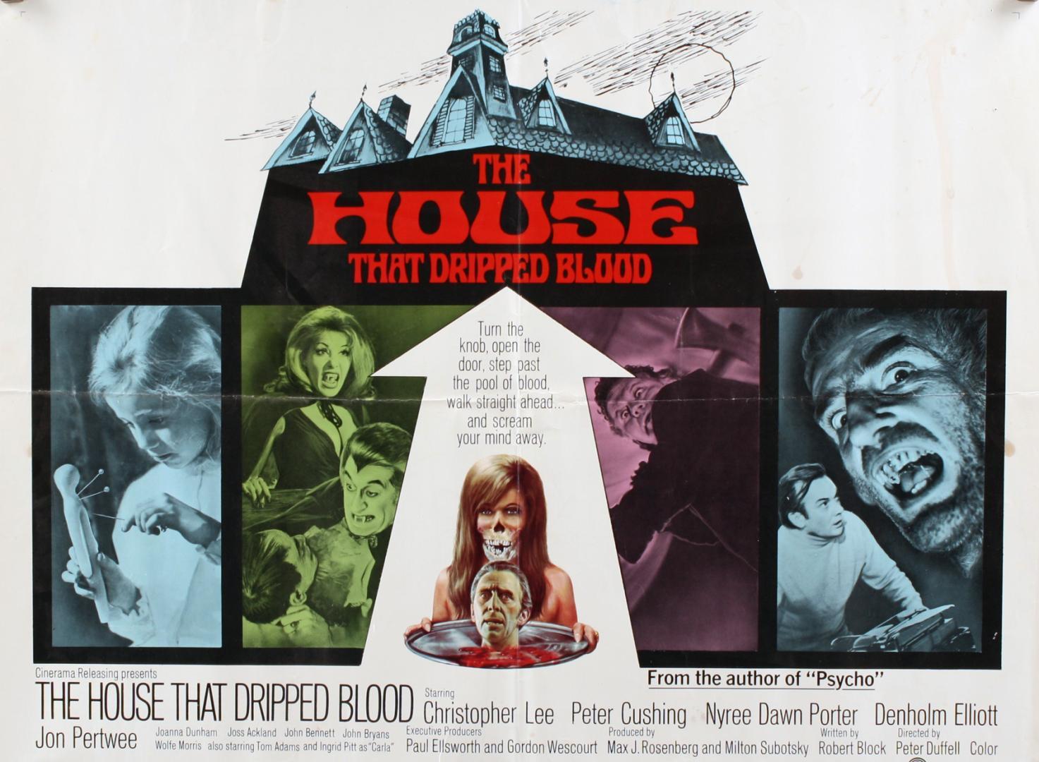 CreepyClassics XII. The House That Dripped Blood - A vértől csöpögő ház (1971)