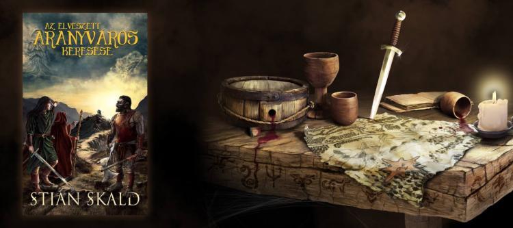 Stian Skald: Az elveszett aranyváros keresése - Regény