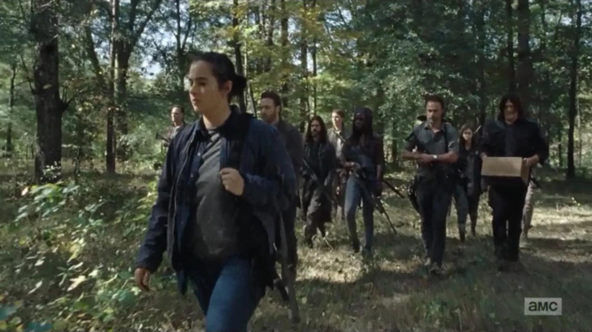 The Walking Dead 7x15 1. kép