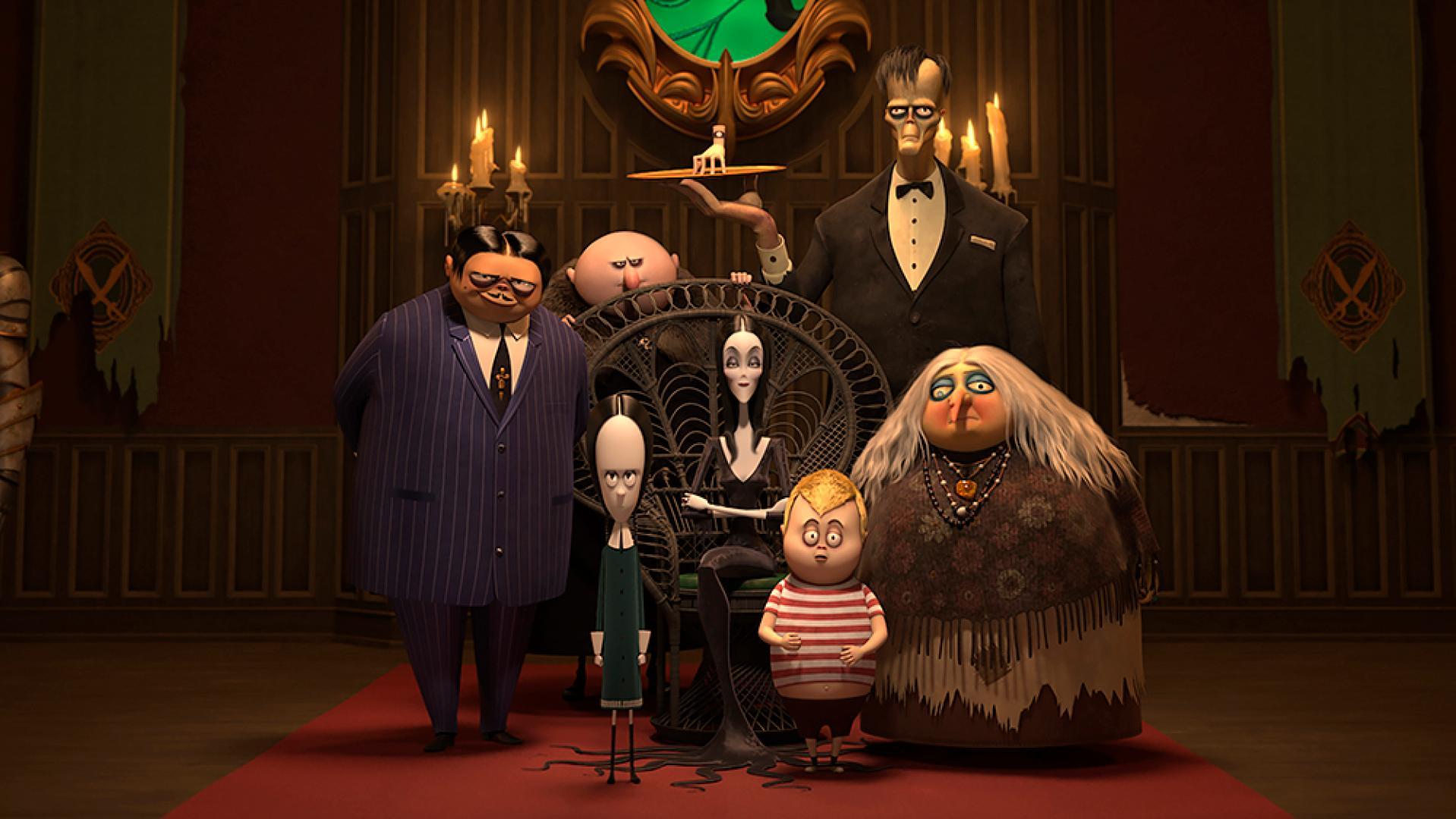 The Addams Family - A galád család (2019)