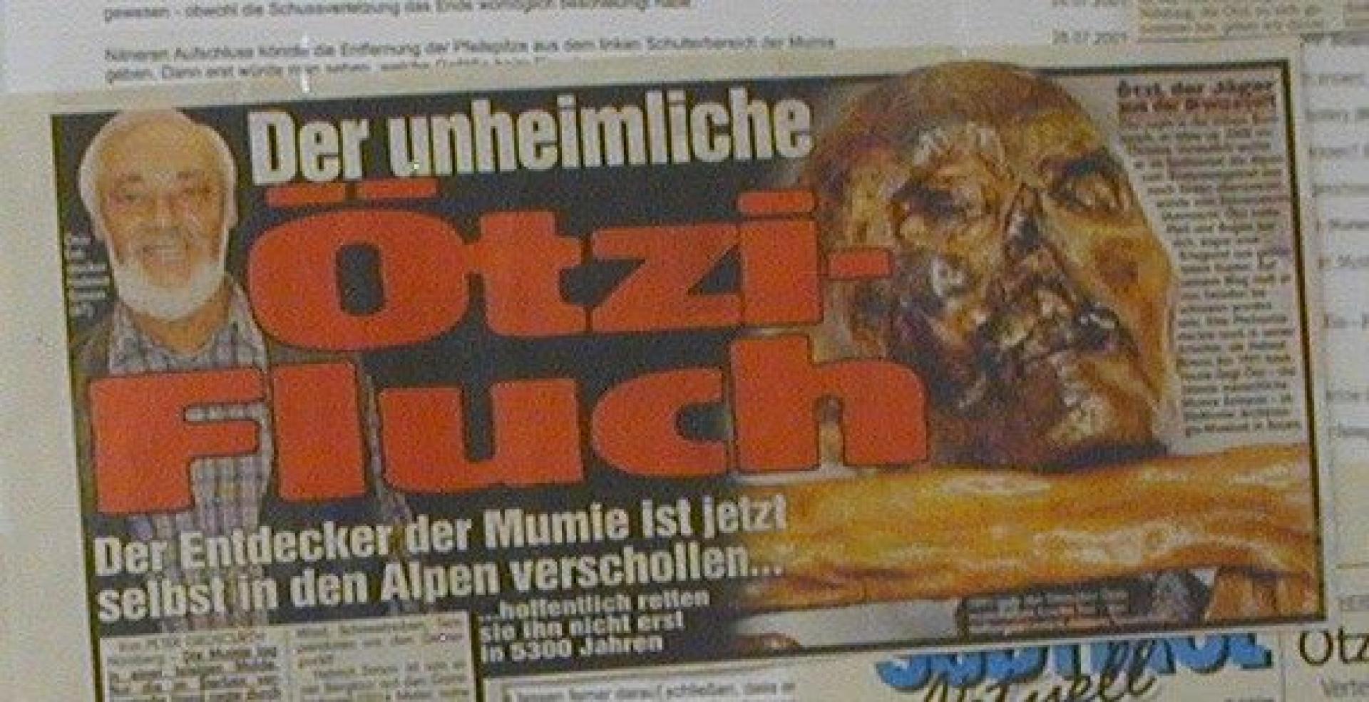Ötzi-átok
