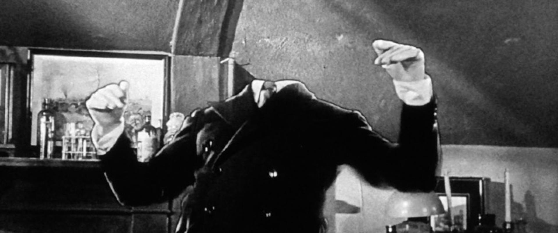 CreepyClassics VI. - A láthatatlan ember (1933)