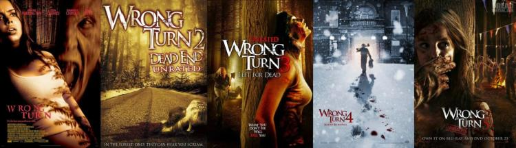 Wrong Turn 1-2 - Halálos kitérő 1-2 (2003/2005) - Slasher