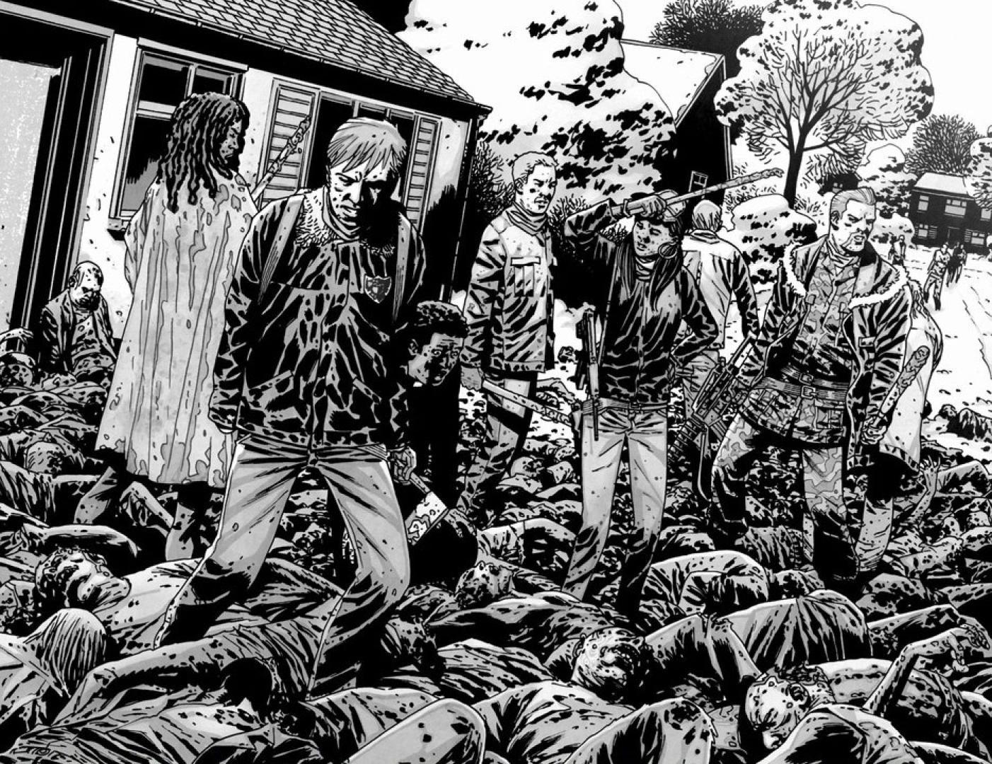 The Walking Dead képregény 14. kötet 09. kép
